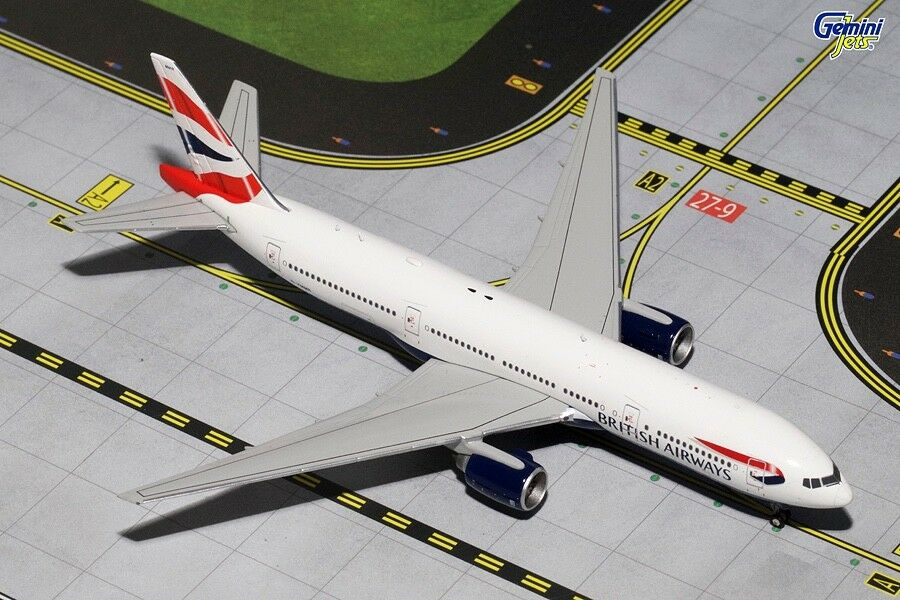 très rare  GEMINI JETS BRITISH AIRWAYS 777-200ER G-ymmr 1 400