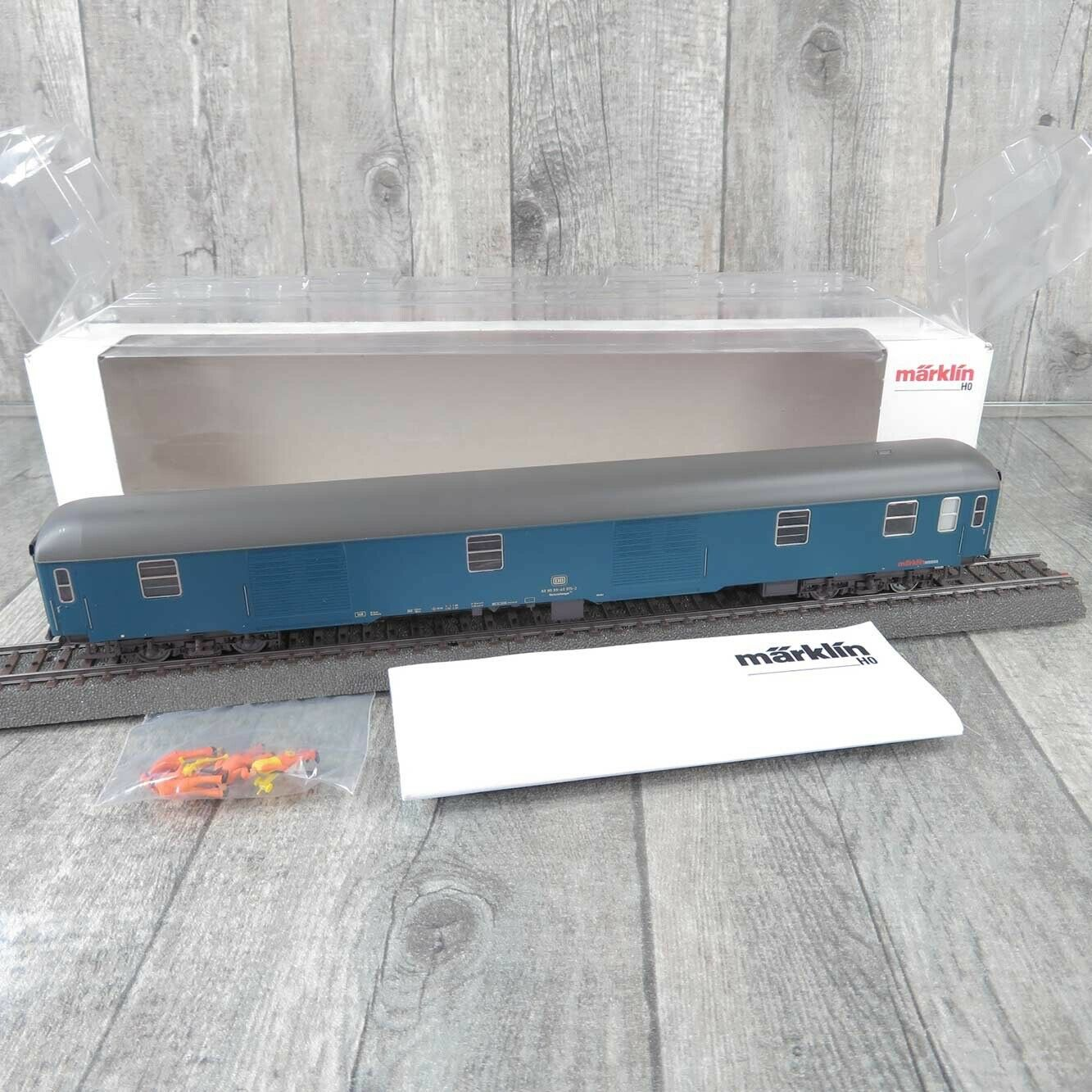 MÄRKLIN 49965 - H0 - DB - Bahndienstwagen - Digital mfx + Sound - OVP -  D23594