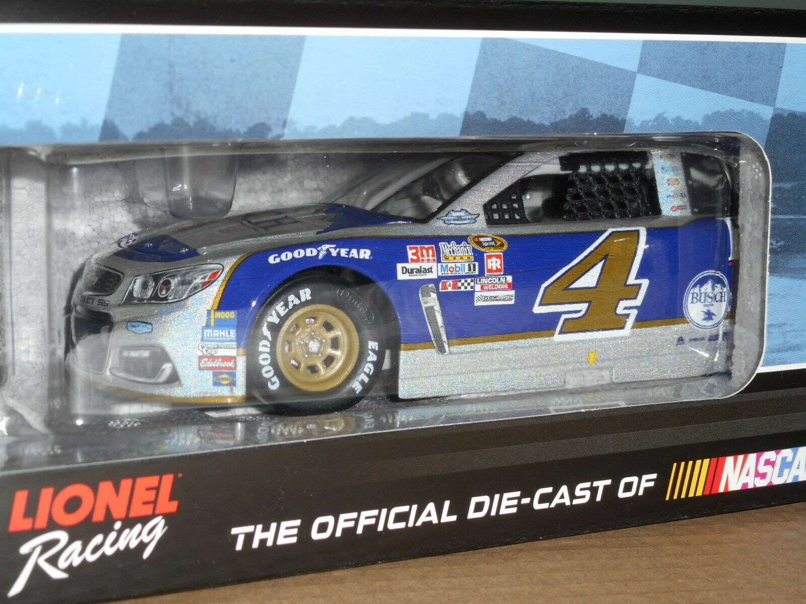 Kevin Harvick  4 Busch Beer Darlington 2016 SS Mesma Chrome 1 24 scale  55 of 72