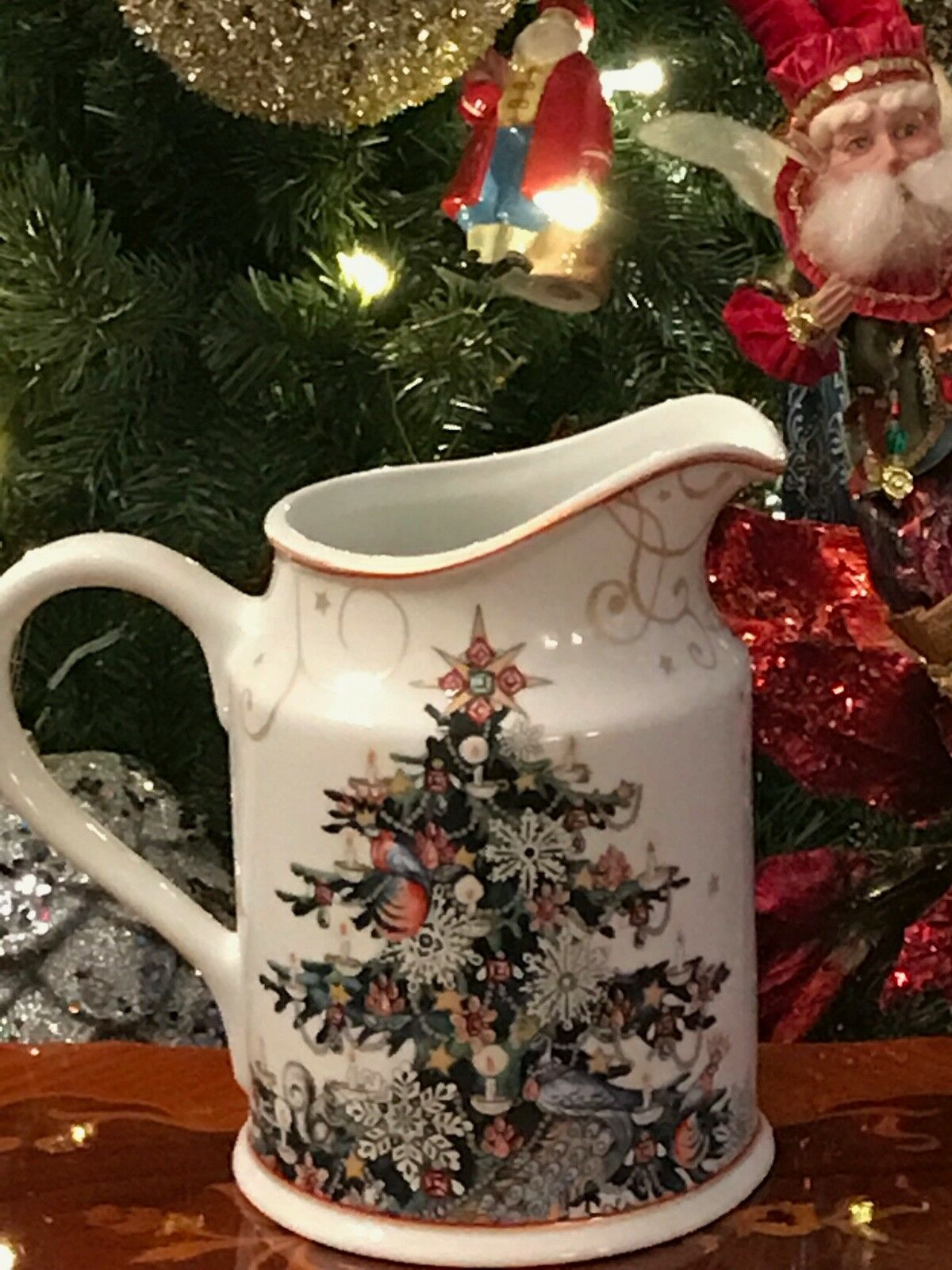 William Sonoma 'Twas the Night Before Christmas Pitcher - New