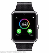 GT08 SmartWatch Armband Uhr für Android + Silber  Bluetooth Wireless