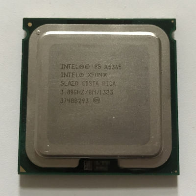 Intel Xeon X5365 3 GHz Quad-Core Processor CPU SLAED LGA 771 Matching pair