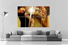 ASIAN SEXY GIRL TATOOS  Art Poster Grand format A0 Large Print