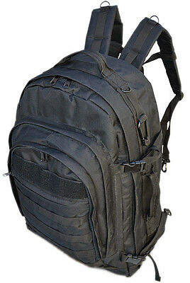 Tactical Large Assault Backpack Heavy-Duty Military Molle Backpack BK 45 Liters