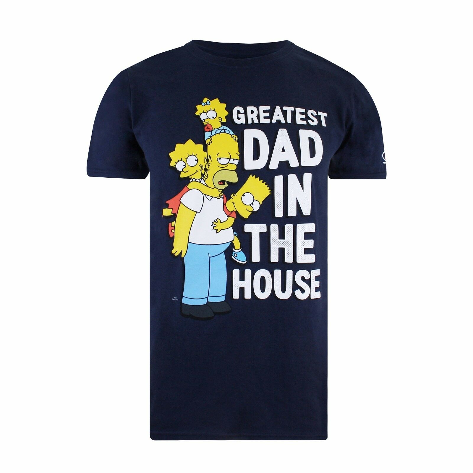 The simpsons greatest dad in the house homer simpson for Simpsons t shirts online