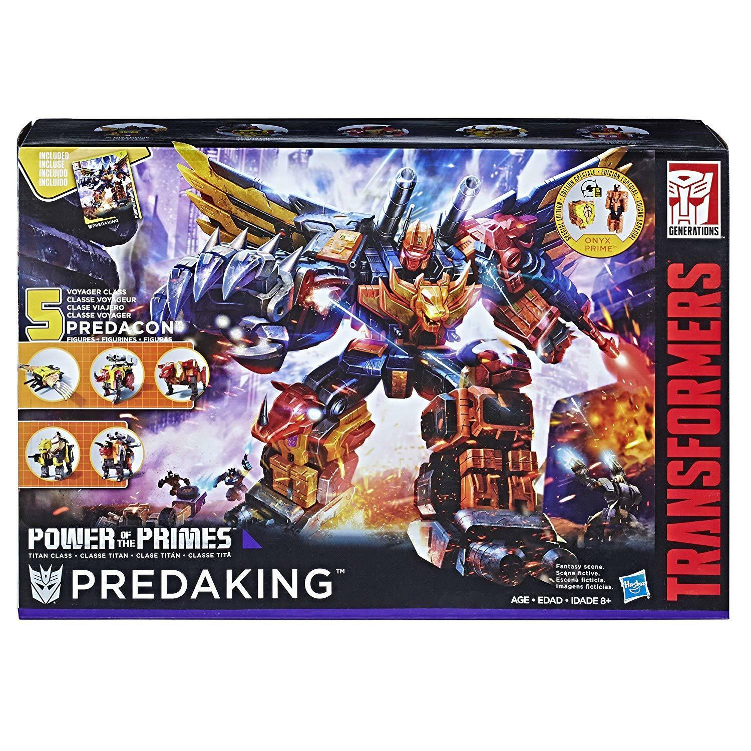 TRANSFORMERS GENERATIONS POWER OF THE PRIMES TITAN CLASS ProssoAKING ACTION FIGURE