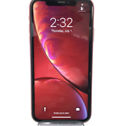 Apple iPhone XR 64gb Product Red Unlocked Rear Cracked