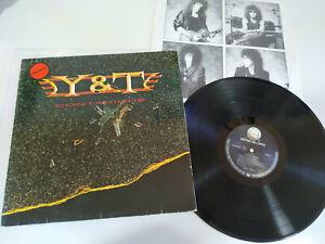 Y-amp-T-Contagious-1987-German-Edition-LP-Vinilo-12-034-VG-VG
