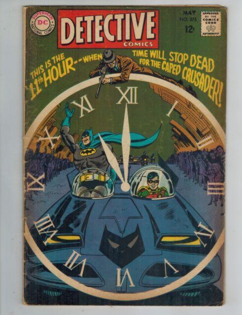 Detective Comics 374 375 376   Batman & Robin!  Elongated Man! 1968 DC Comics