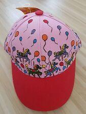 Kinder cap Caps Baseball mit klettverschluss Motiv Karussell Pferd Luftballon201