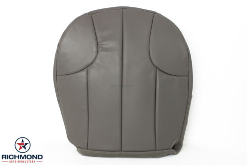 Driver Side Bottom Leather Seat Cover Gray 2001 Jeep Grand Cherokee Laredo