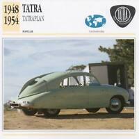 1948-1954 TATRA TATRAPLAN Classic Car Photograph / Information Maxi Card