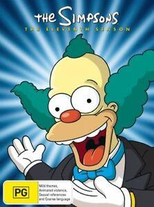 The-SIMPSONS-The-COMPLETE-Season-11-DVD-TV-SERIES-BRAND-NEW-4-DISCS-BOX-SET-R4