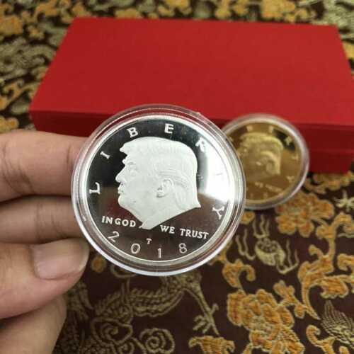 2018 President Donald Trump EAGLE Commemorative Coin Republican