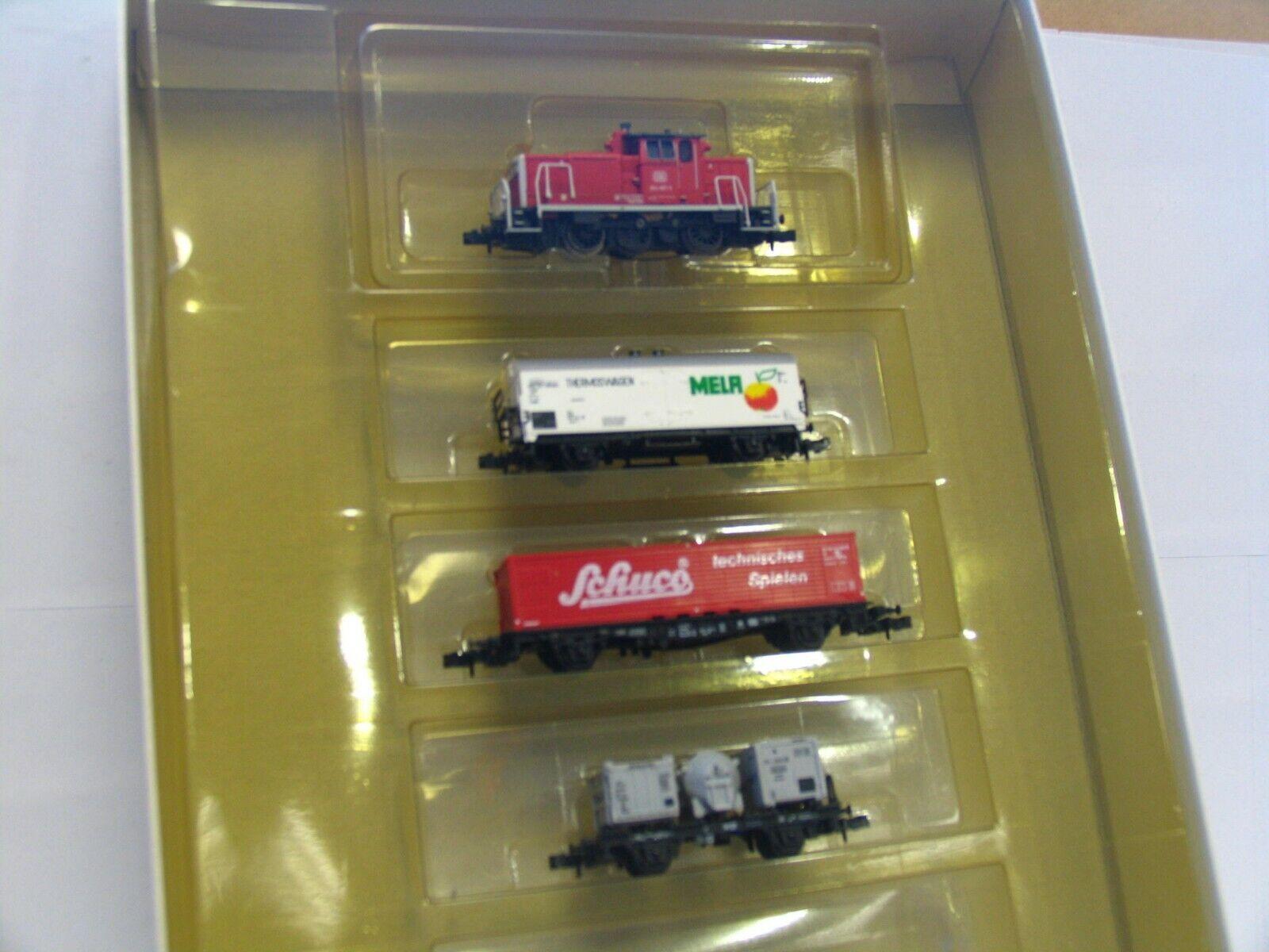 Ahorre hasta un 70% de descuento. Minitrix n 11002 4er set tren tren tren de Cochega con diesellok br 364 857-3 DB embalaje original (rb7604)  diseñador en linea