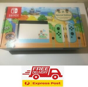 Nintendo Switch Animal Crossing EXCLUSIVE edition BRAND NEW FREE EXPRESS SHIP!