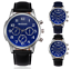 Migeer-Classic-Pilot-Aviation-Military-42mm-Quartz-Alloy-Watch-Colour-Choice thumbnail 1