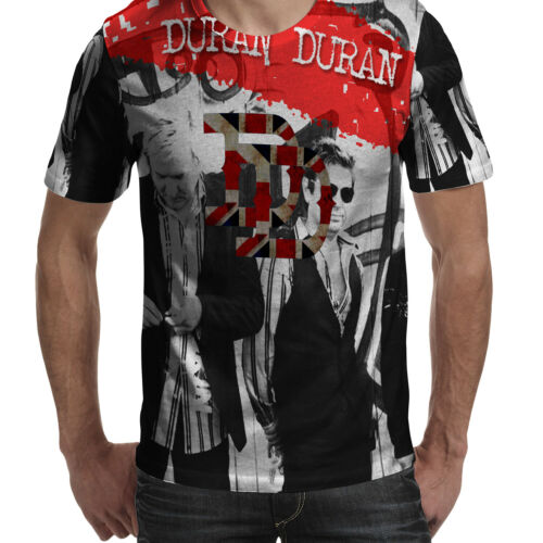 Duran Duran Band Tshirt Polyester Tee Fullprint New Men/'s T-Shirt