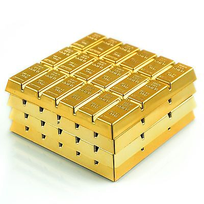 Gold Bar Cup Mat Coasters Drink Coasters Home Decor Bar Accessory A set of 4