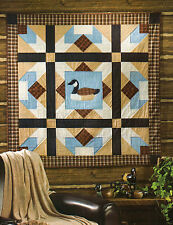 Argyle Canada Goose Quilt Pattern Pieced/Applique JS