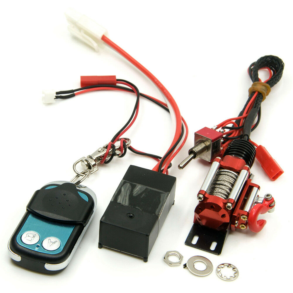 Winch Control system w  Remote Receiver For Axial D90 SCX10 1 10 RC Crawler