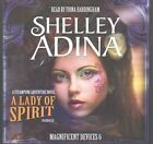 A Lady of Spirit: A Steampunk Adventure Novel by Shelley Adina (CD-Audio, 2015)