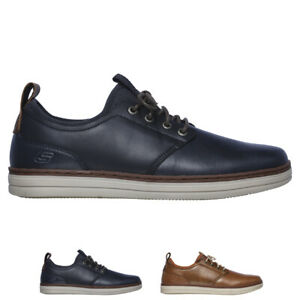 skechers mens leather shoes