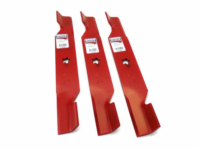 "3 Replacement Hi-Lift Blades for 54/"" Deck Husqvarna 187254 187256"