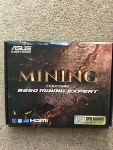 ASUS-B250-Mining-esperto-19-slot-scheda-madre-cpu-LGA1151-7th-6th-GENERAZIONE-NUOVO-CON-SCATOLA