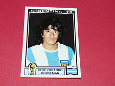 108 HOUSEMAN 1978 ARGENTINA 78 FOOTBALL PANINI WORLD CUP STORY 1990 SONRIC'S