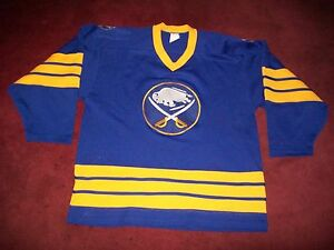 c63a756d7 Image is loading VINTAGE-MESH-BUFFALO-SABRES-CCM-HOCKEY-JERSEY-SIZE-