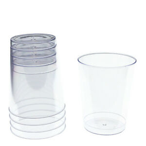 Image Is Loading Disposable Wedding Clear Plastic Tumblers Cups Bulk