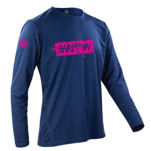 Shreddin Pink I Trikot Shirt Jersey Downhill Freeride MTB Bike DH MX Enduro