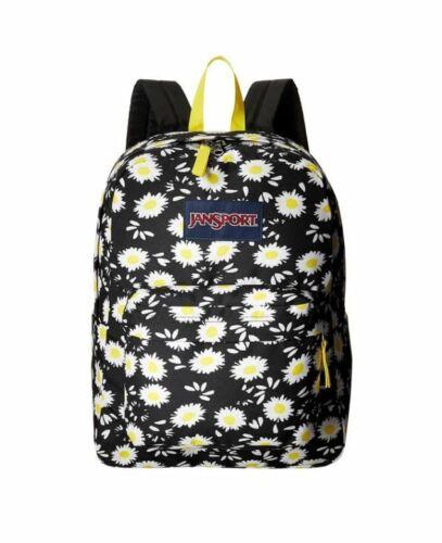 Daisy Flower Jansport Superbreak Mens /& Womens Backpacks Rucksack