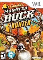 Cabela's Monster Buck Hunter Wii