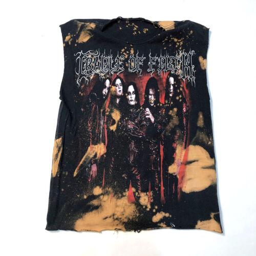 Cradle of Filth Medium T-Shirt Splatter Bleached s