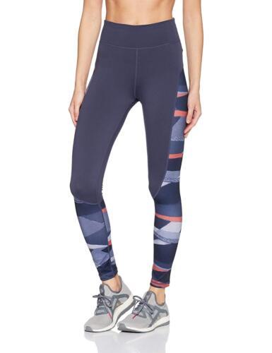 Medias gran estampado de traza Azul mujer entrenamiento Nwt largas para para altura ~ Adidas r6pxErTq
