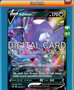 Sableye V 120//202 Pokemon TCG Online *DIGITAL CARD*