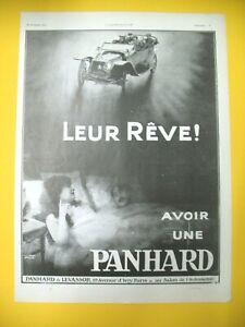 Publicite-de-Prensa-Panhard-amp-Levassor-Automovil-un-Reve-1912