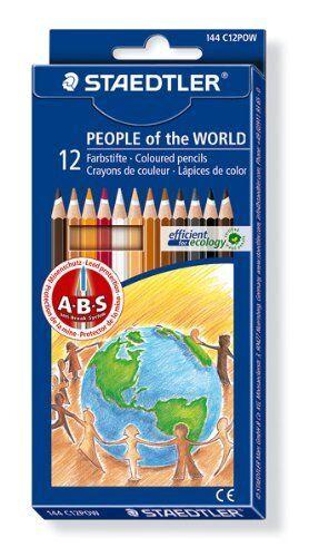 Surtido de colores Lápices Staedtler Noris Club personas of the World