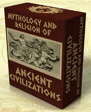 MYTHOLOGY & RELIGION of ANCIENT CIVILIZATIONS 203 Books on DVD Greece Rome Egypt
