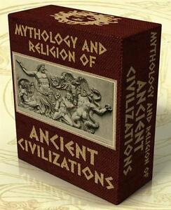 MYTHOLOGY-amp-RELIGION-of-ANCIENT-CIVILIZATIONS-203-Books-on-DVD-Greece-Rome-Egypt