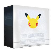 Pokemon Celebrations Elite Trainer Box Presell Pokemon TCG Ships Oct 8th