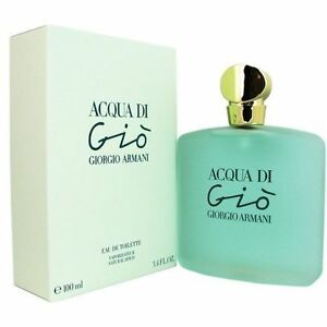 Acqua Di Gio by Giorgio Armani 3.4 oz EDT Perfume for Women New In Box | eBay