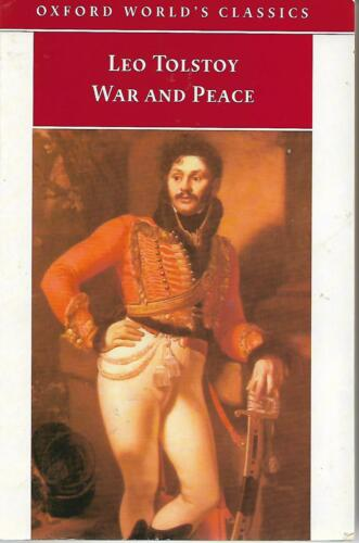 1 of 1 - War and Peace by Leo Tolstoy 1998 Oxford Worlds Classic Paperback vgc