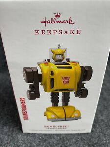 2019-Hallmark-Keepsake-Ornament-Transformers-Bumblebee-New