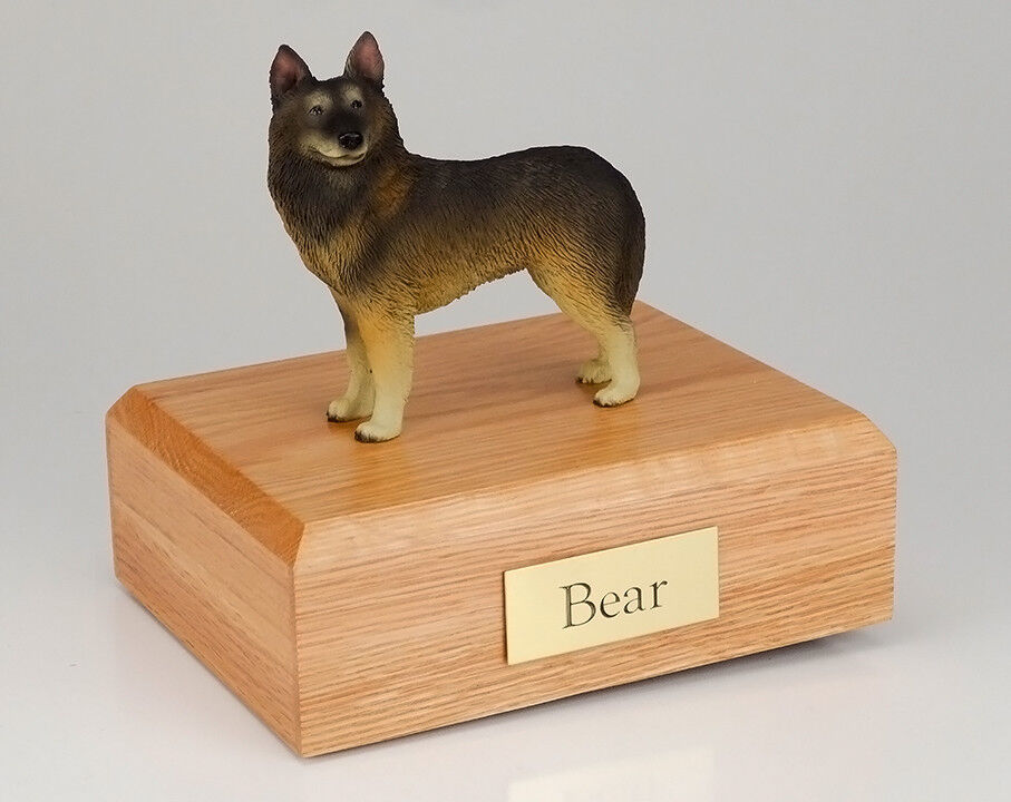Belgian Tervuren Tervuren Tervuren Pet Funeral Cremation Urn Avail. 3 Different Coloreeees 4 Dimensiones 42933a