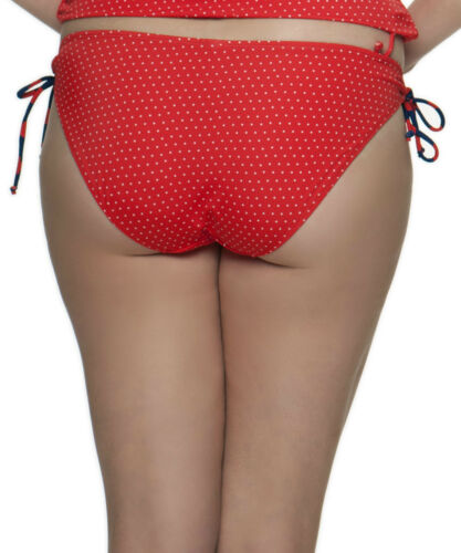 Curvy Kate CS2705 Plain Sailing Ruched Back Brief in Flame Spot