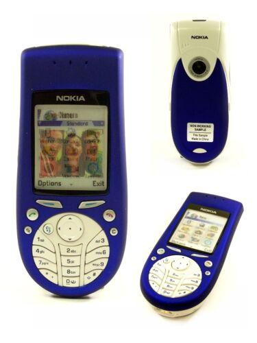 NOKIA 3660 blue Handy Dummy mit Wackelbild Candybar SPIELZEUG Handy Attrappe