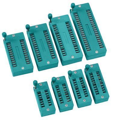 IC Testsockel Nullkraftsockel Test Sockel 14, 16, 18, 20, 24, 28, 32, 40 polig